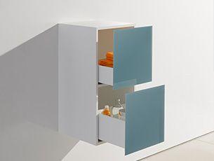 Ein Kleiner Auszugschrank Mit Viel Stauraum Fur Ihr Bad Badmobel