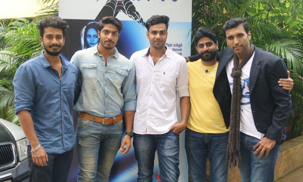 X Videos Movie Press Meet Stills Xvideos Tamilmovie Sajosundar Abhinav Akrutisingh