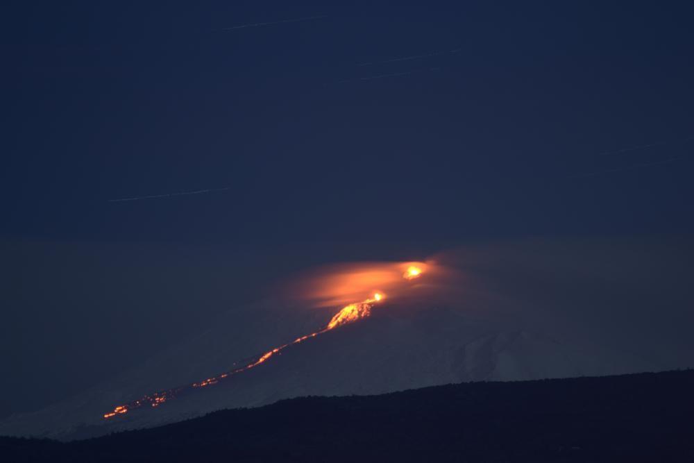Etna eruzione del 01/02/2015 by oraziopuccio