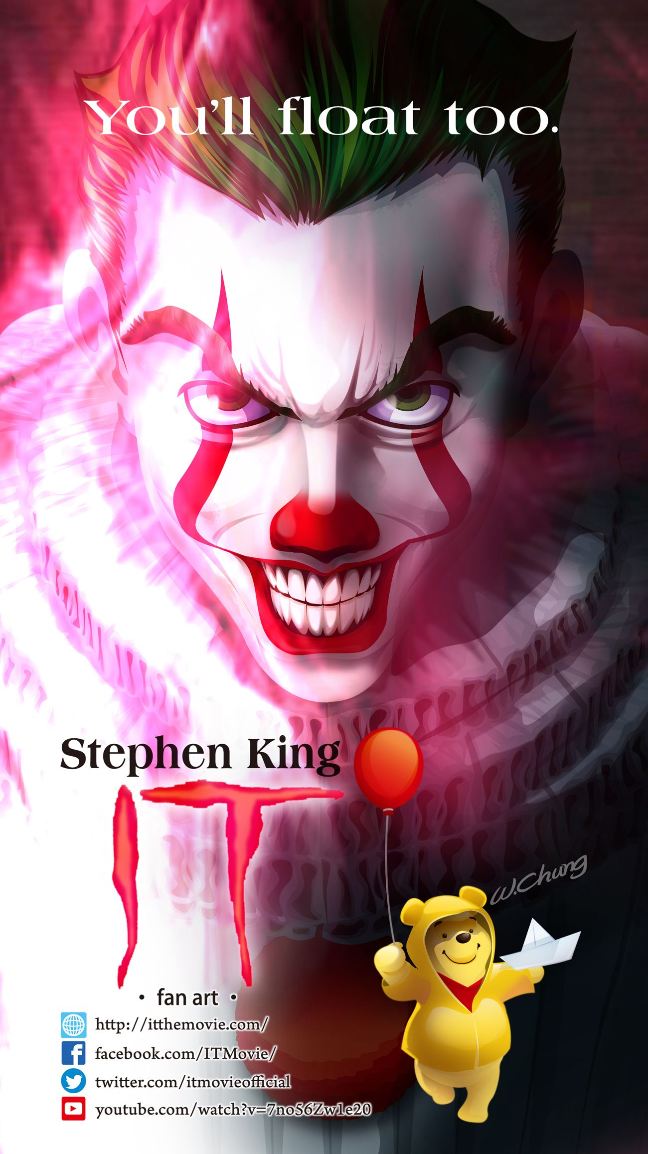 It 2017 film it movie it movie poster directed by andr s