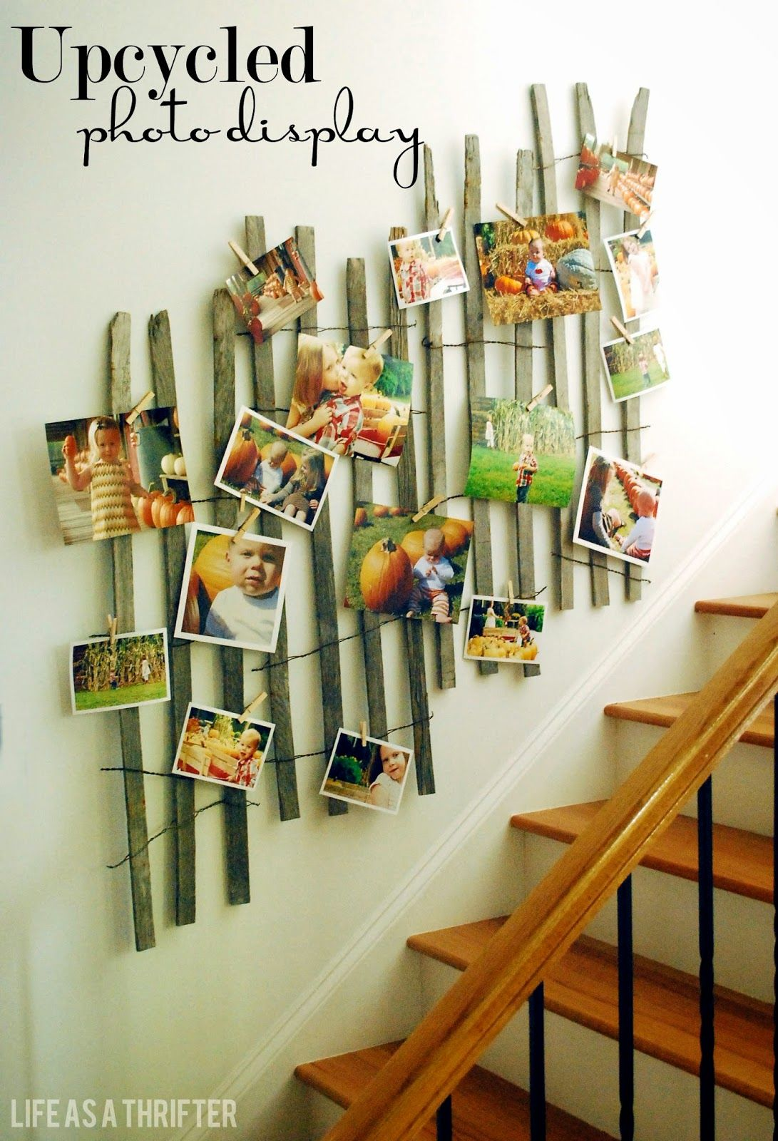 Life as a Thrifter: Upcycled Photo Display