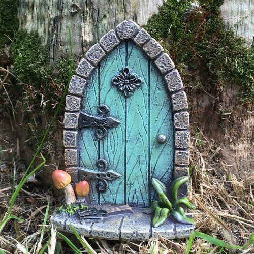 Shoemaker Mini Fairy Garden Door Brambly Cottage