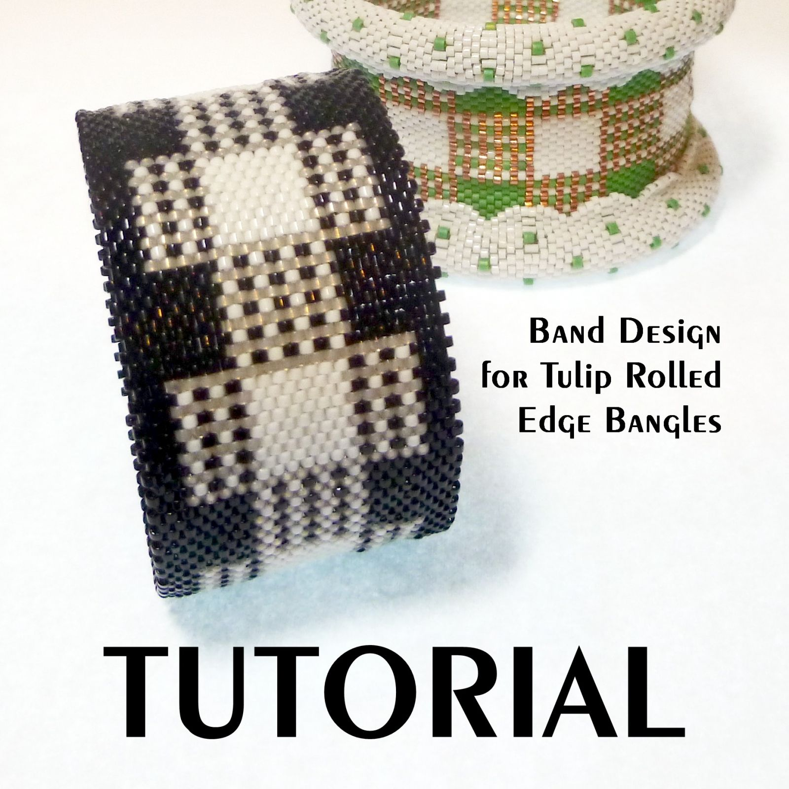 Instant download tubular peyote band for use with my tulip rolled