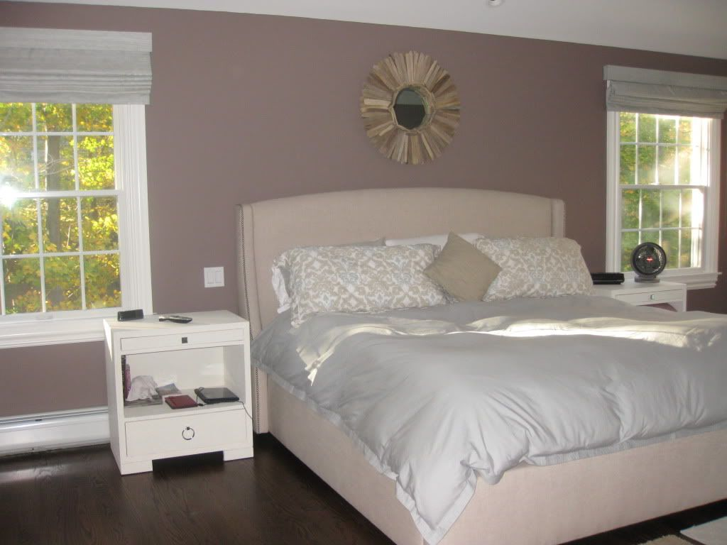 Benjamin Moore Smoked Oyster Wall Color For Bedroom