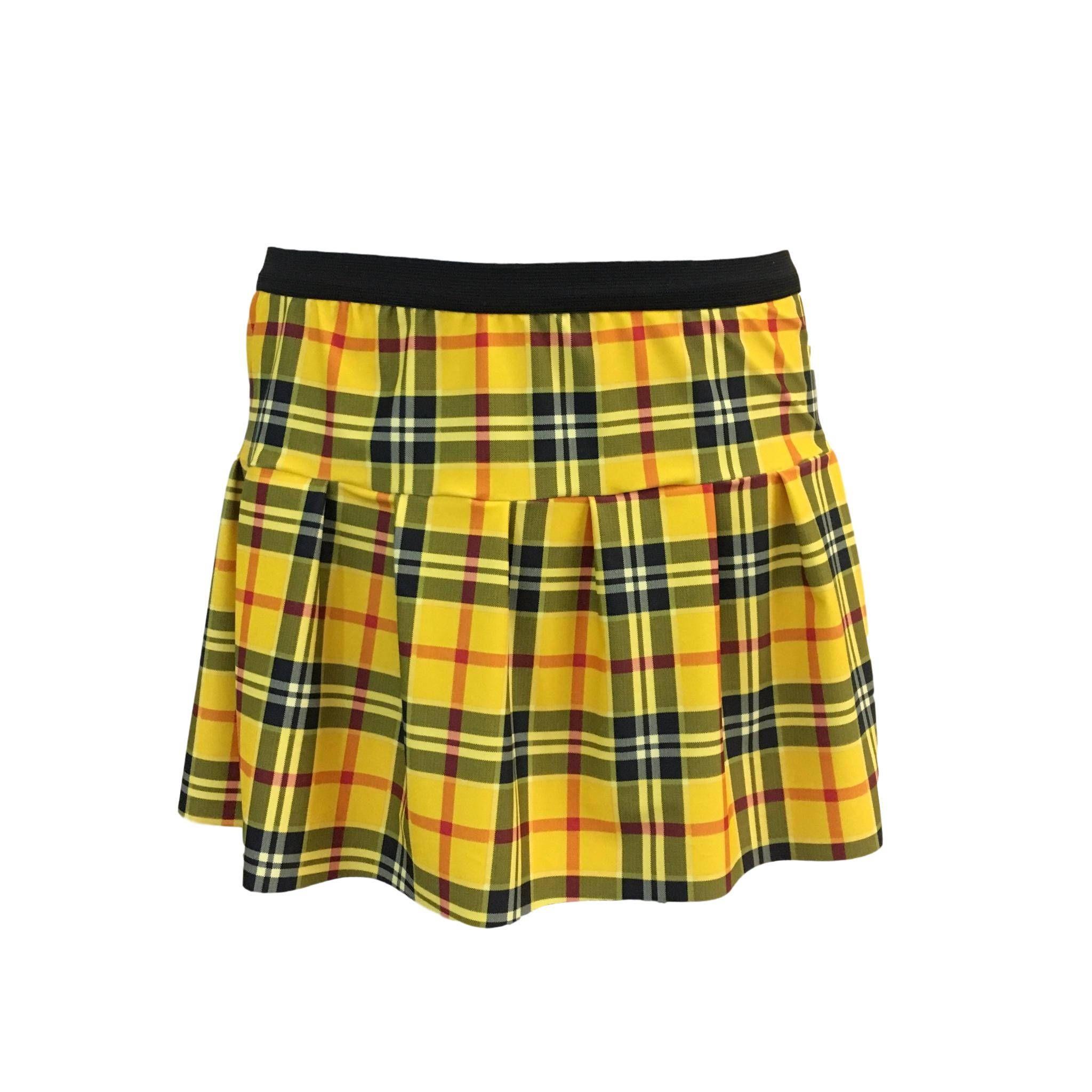 cc0b88fae Plaid Yellow Running Skirt | Christmas Skirt | Irish Skirt | School Girl  Skirt | Darla Finding Demo | Yellow Plaid Skirt by RockCitySkirts on Etsy