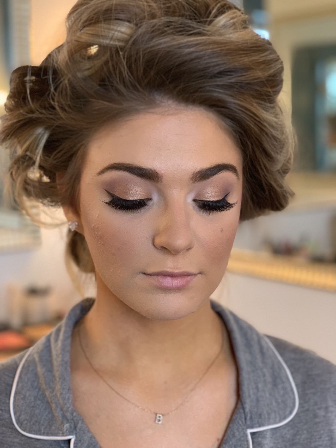 Wedding Makeup Glam Smokey Eye Natural Soft Soft Wedding