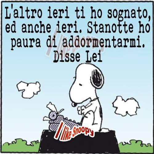 Famoso Snoopy. Dichiarazione d'amore.Declaration of love  JG75