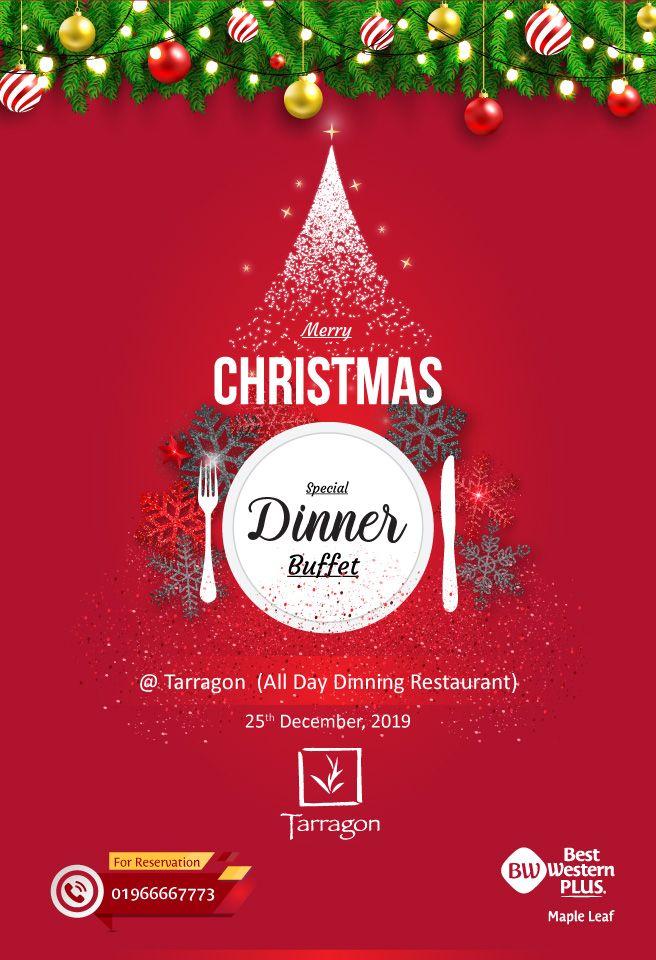 Celebrate the Wonder and the Joy of the Festive Season with Best Western Plus Maple Leaf. Special dinner Buffet @ Tarragon Restaurant Call for Reservation 01966667773.  #Breakfast #Dinner #Buffet #Uttara #Dhaka #HolidaySpecial #Food #Weekend #Weekwndtakeaway #FamilyTreat
