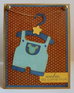 Crafting with Katie: Baby Boy Card