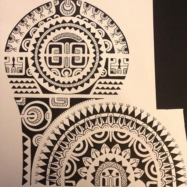 Twotattoo Tatuaje Tiburon Martillo Maori Tatuajes - Soles-maories