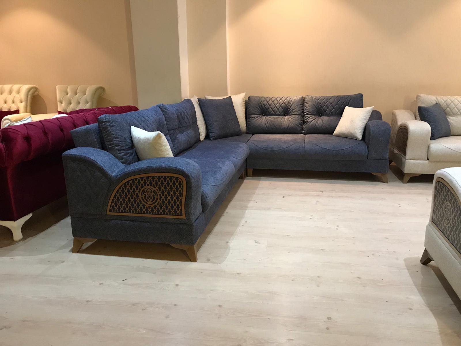 Defne Kose Takimi Sectional Couch Home Decor Furniture