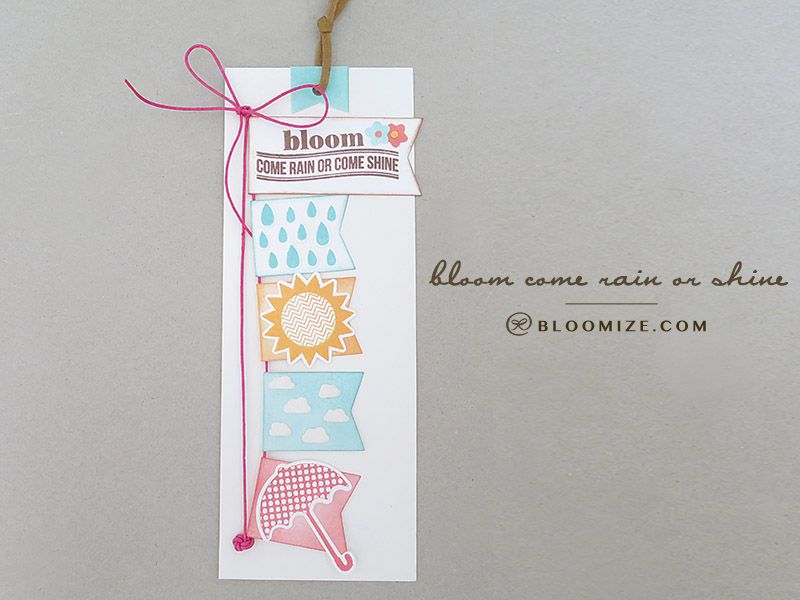 Bloom flag raising tag/bookmark @ bloomize.com