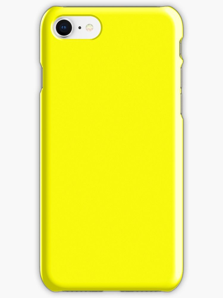 neon yellow iphone xr case