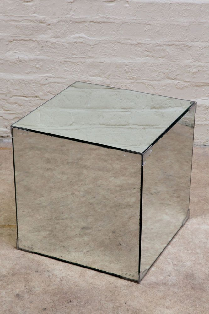 Mirrored Glass Cube Table ( Mirror Box ) In Home, Furniture U0026 DIY,  Furniture, Tables | EBay