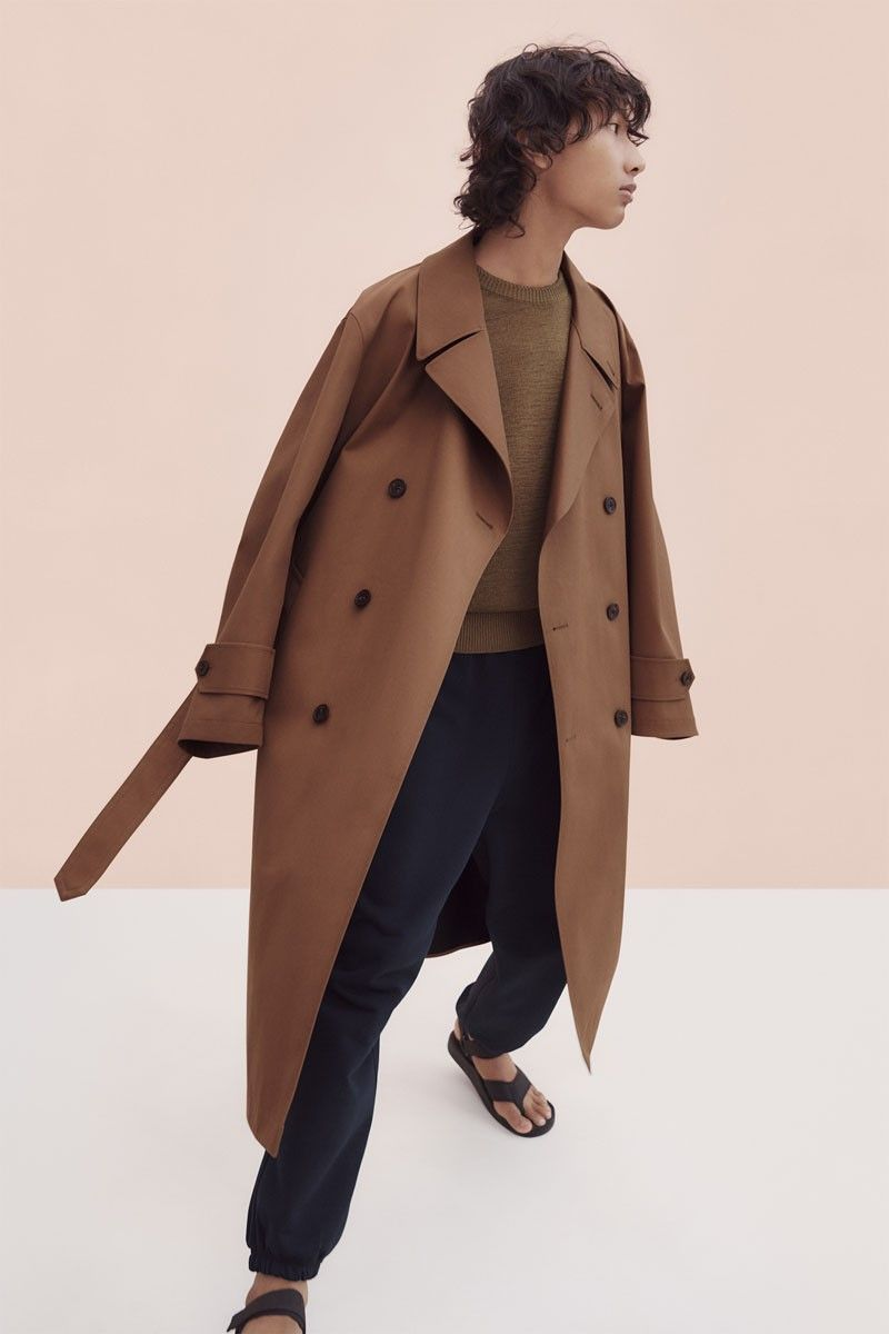 Uniqlo X Uniqlo U S Ss20 Collection Will Cover Your Basic Wardrobe Needs Trench Coat Men Coat Military Trench Coat [ 1200 x 800 Pixel ]