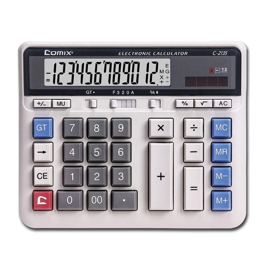 Rugged, HeavyDuty Large Computer Keys Calculator