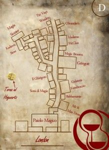Pin by DA Rivard on D&D | Diagon alley, Harry potter fandom ... Diagon Alley Map on iowa county map, j.k. rowling map, ministry of magic map, wizard map, harry potter alley map, charing cross galloway street map, oklahoma tornado alley map, chamber of secrets map, hogwarts map, home map,