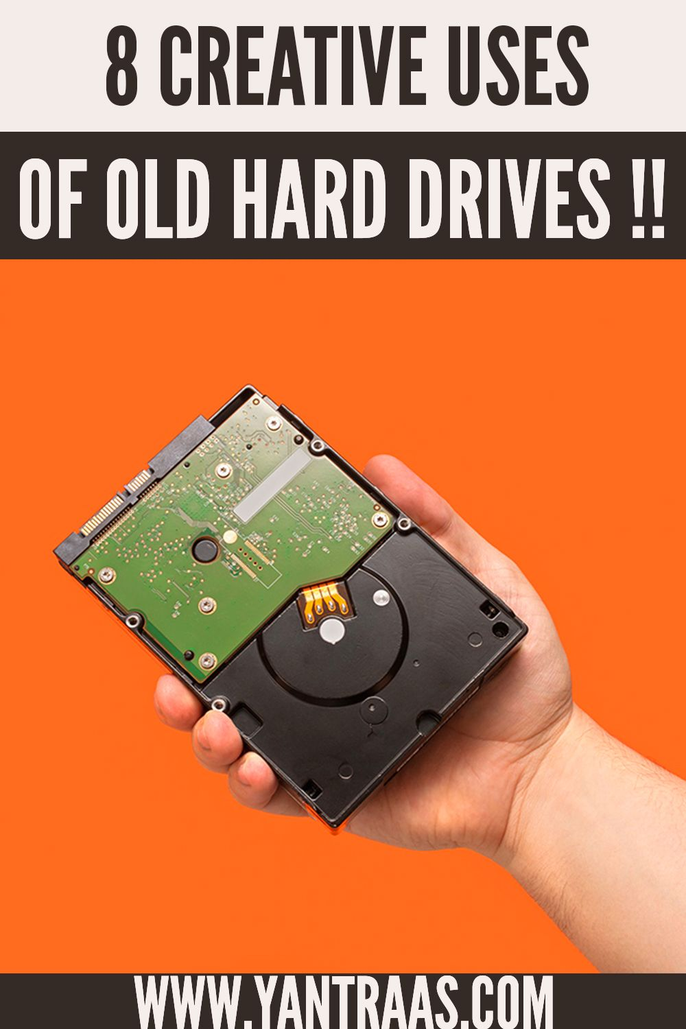 Top 8 Creative DIY Projects For Your Hard Drive | DIY Easy Tech Projects