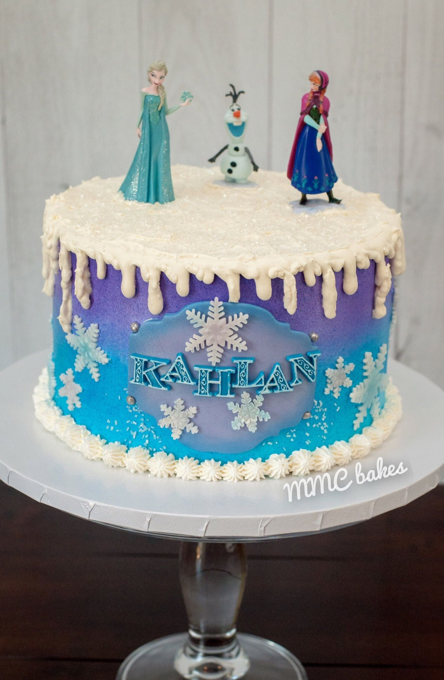 Remarkable Frozen Birthday Cake Frozen Birthday Cake Birthday Cards Printable Trancafe Filternl