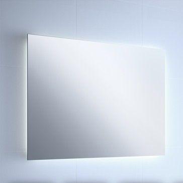 Espejo de ba o retroiluminado deco ba os espejos para ba os y espejos - Espejo retroiluminado bano ...
