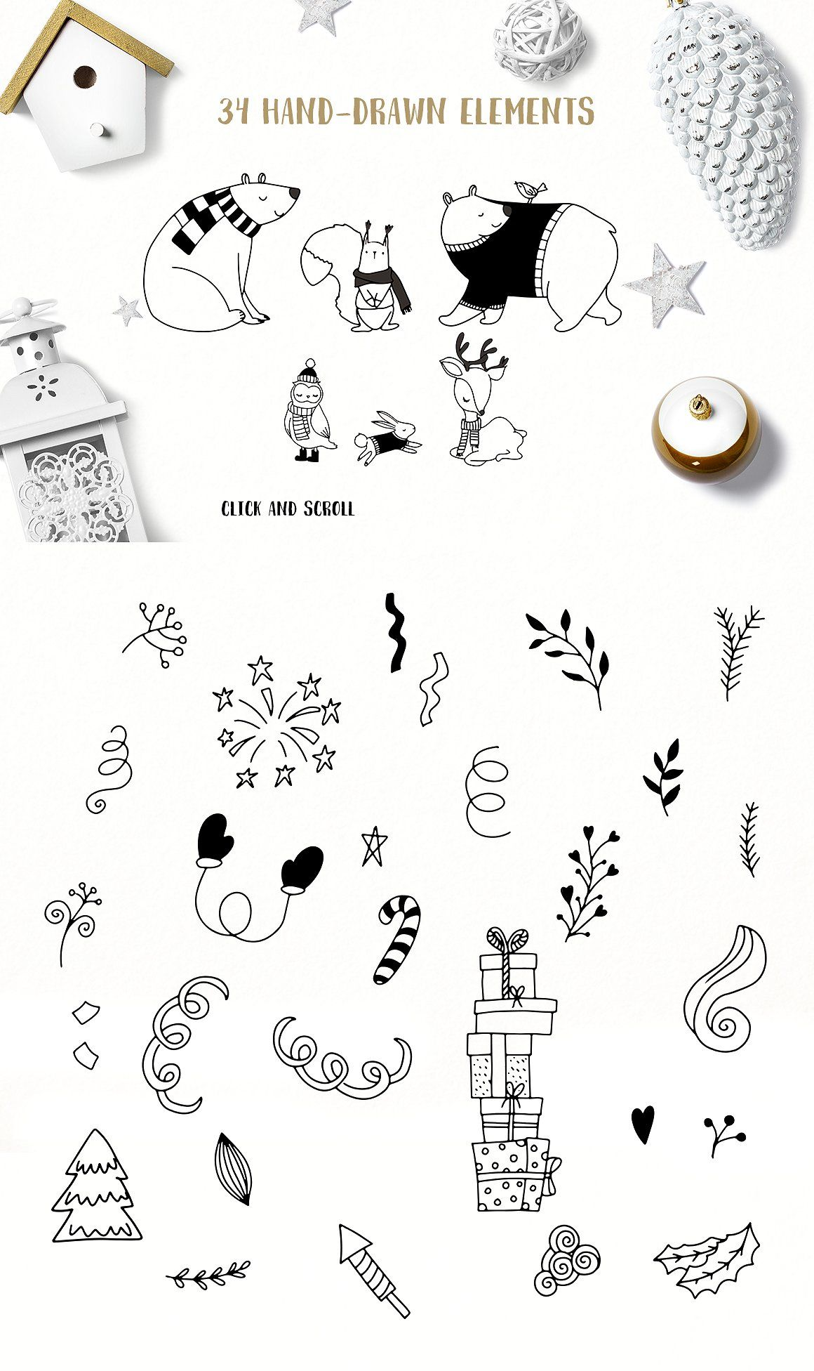 Christmas Illustration Pinterest.Warm Wishes Greeting Collection Doodle Pinterest