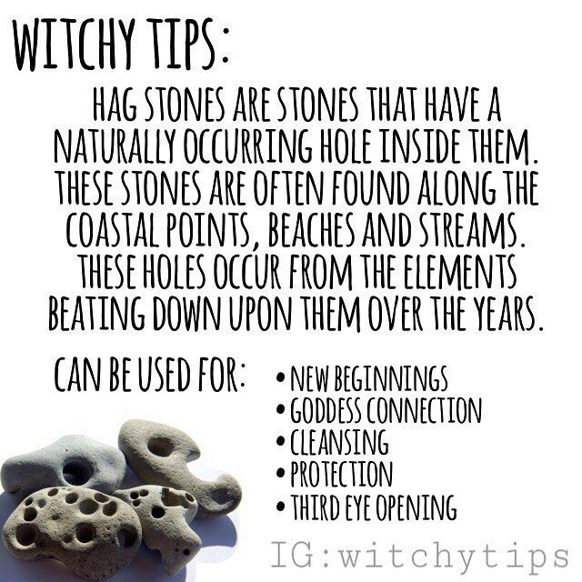 Tips For Witches Everywhere On Instagram Finding A Hag Stone Is Considered Good Luck If You Close One Eye And Peer Through Th Zauberhandwerk Magie Zauber As an amulet , it is much in demand by pagans and wiccans because it symbolizes the female principle, or great. tips for witches everywhere on