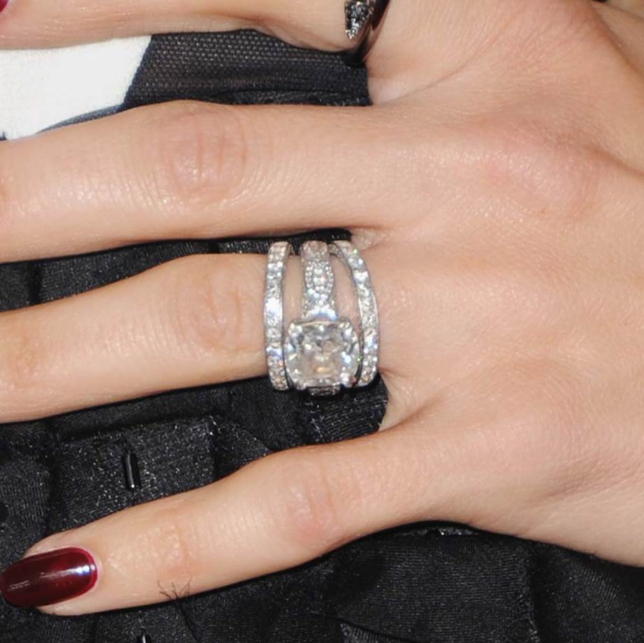 The Biggest Celebrity Wedding Band Stacks Ever Wedding Ring