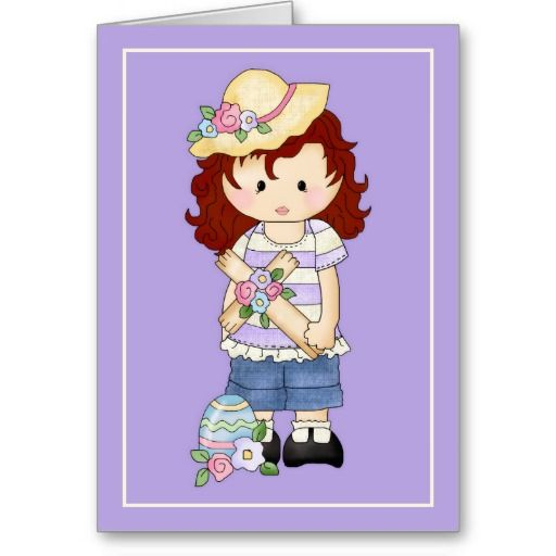 Felicity Jane Easter Blessings d1 Greeting Card