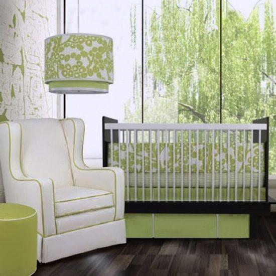 The Perfect Spring Nursery · Green Color SchemesRoom ...