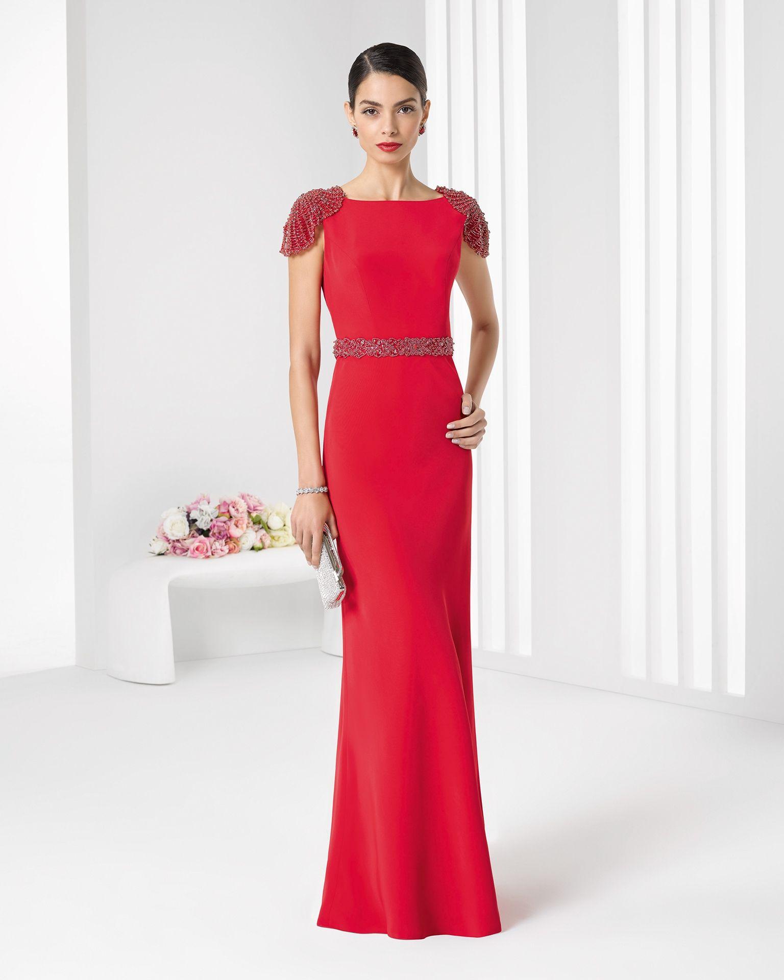 7f57ebd37b 2016 9T190 COCKTAIL ROSA CLARA (Vestido de Fiesta). Diseñador  Rosa Clará.
