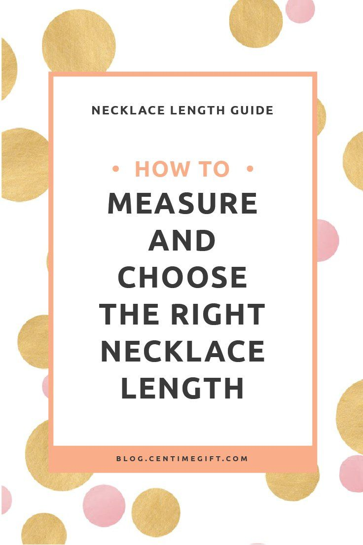 Necklace length guide how to measure choose the right necklace necklace length guide how to measure choose the right necklace length nvjuhfo Image collections