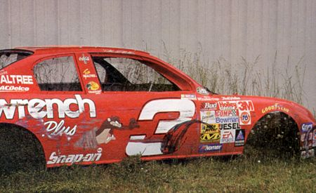 Dale Earnhardt's Taz Monte Carlo from 2000   Ghosts of the ...