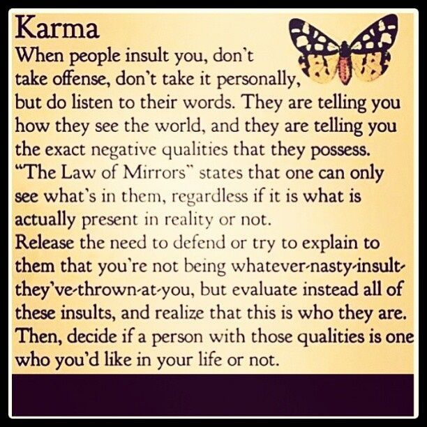 Don T Believe In Karma Google Search Karma Quotes Be Yourself Quotes Inspirational Words
