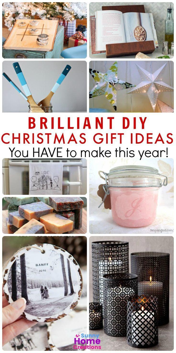 DIY Christmas Gifts to Make This Year | Pinterest | DIY Christmas ...