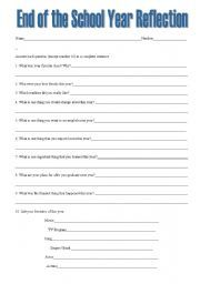 Some Awesome End of School Year Worksheets, Printables, and ...
