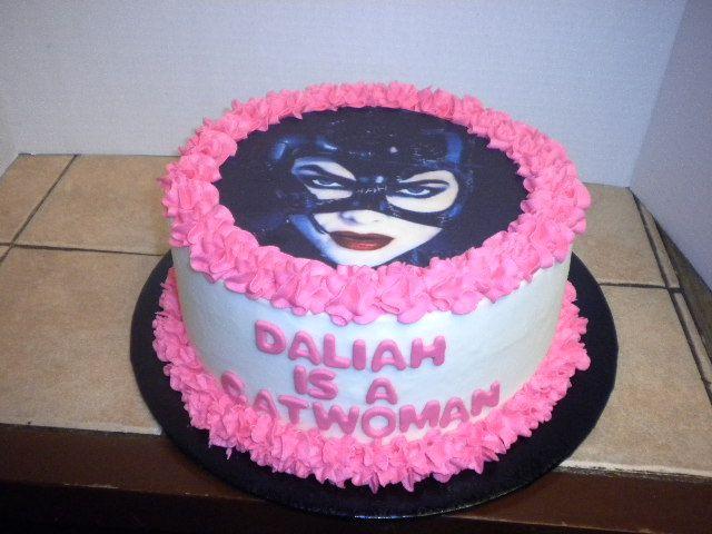 Cat Woman Cake Cakes Pinterest Cake