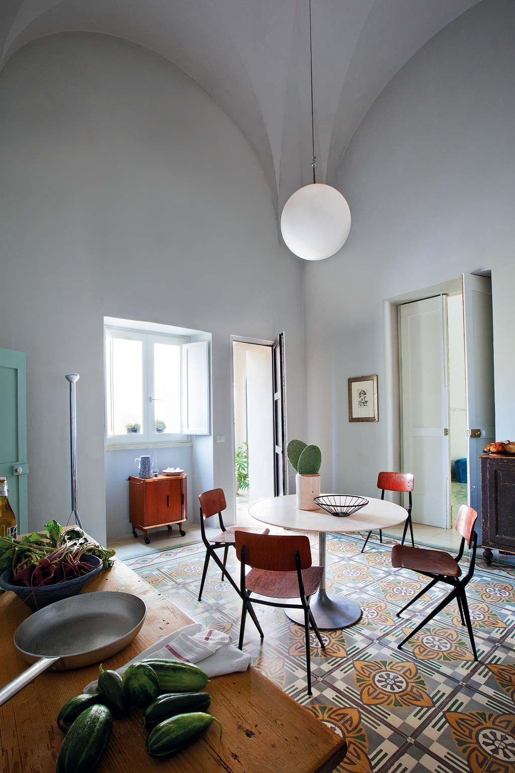 Vivir en un palazzo del XVIII Diseño interior italiano