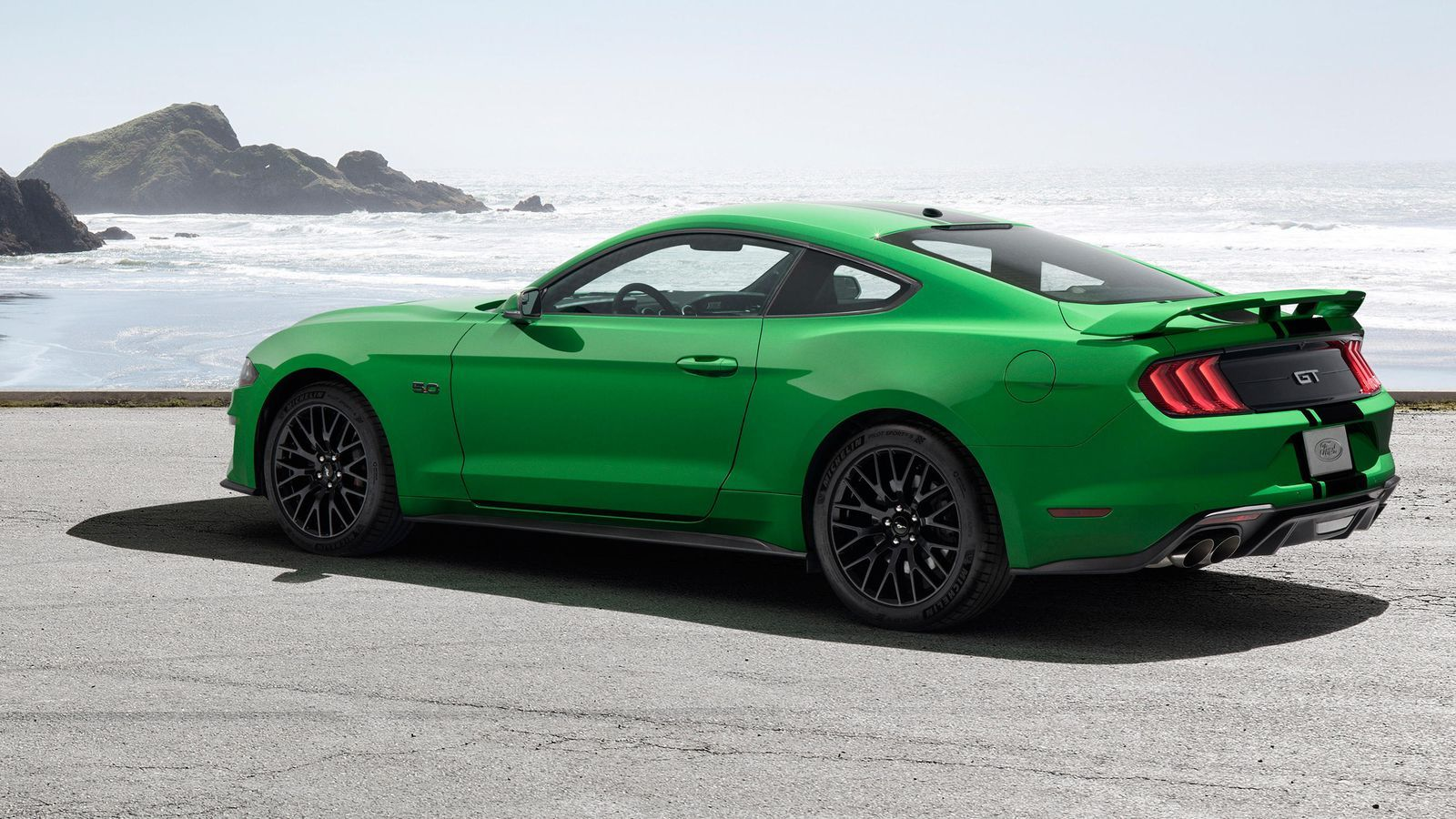 2019 Ford Mustang Has The Need For Green Ford Mustang Mustang