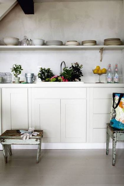 Neat and open (shelving) in 2018 Home Pinterest Kitchen