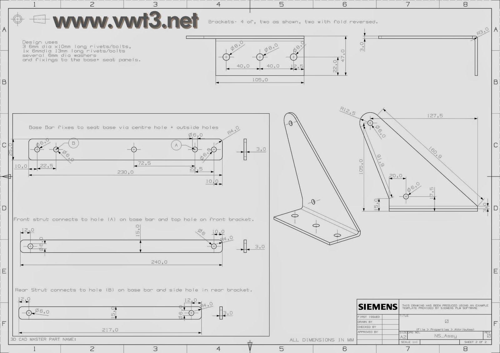 vwt3 net  mecanismo sofa cama camper  planos t u00e9cnicos