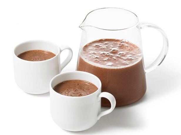 Super Thick Hot Chocolate Recipe Hot Chocolate Recipes Chocolate Recipes Food Network Recipes