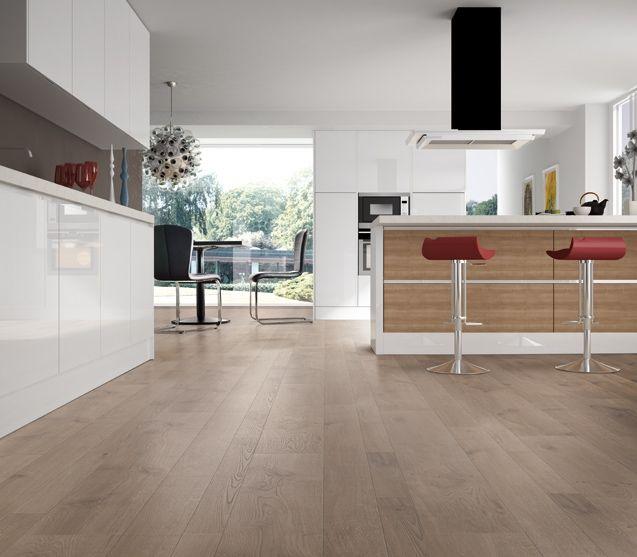 Cocinas suelo madera buscar con google suelos y cocina - Suelo madera cocina ...