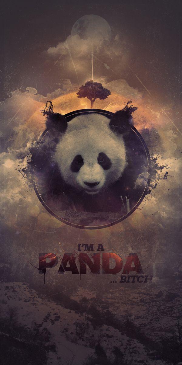 I'm A Panda by Everlong Design Panda art, Panda
