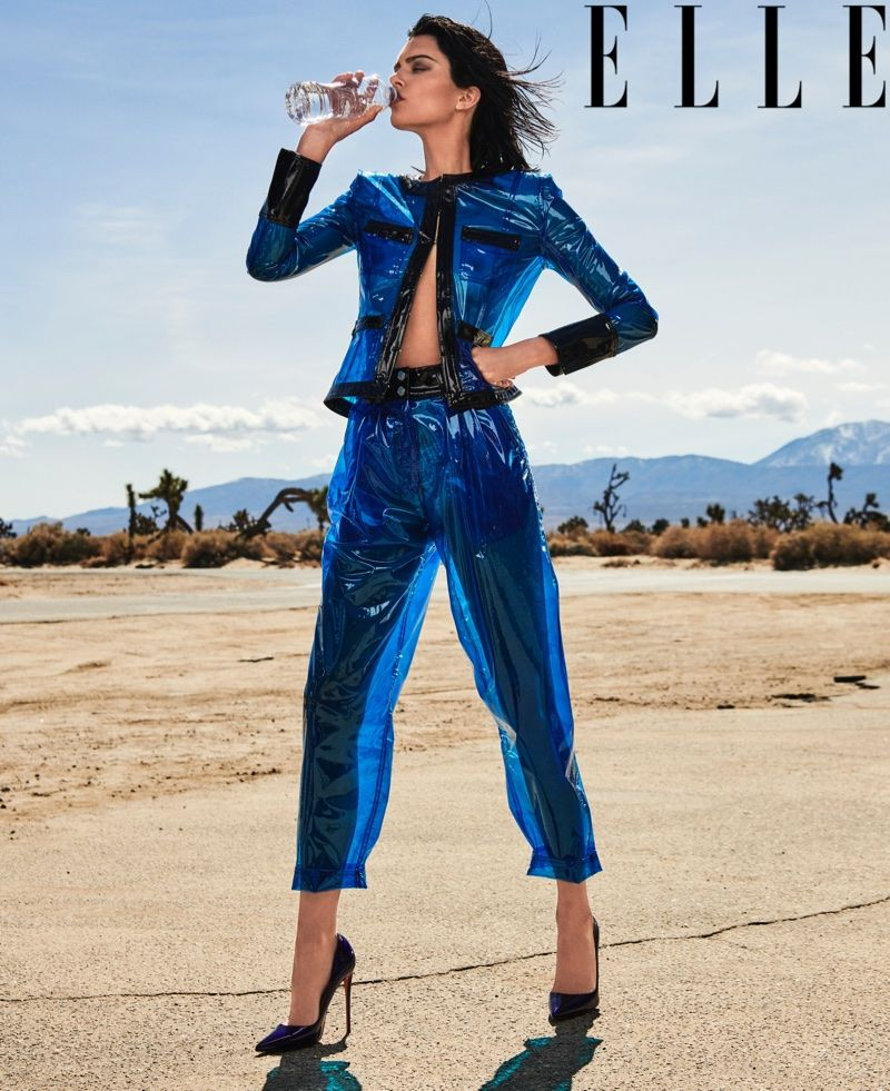 32cf29768c06 Kendall Jenner Hits the Road in Sultry Styles for ELLE