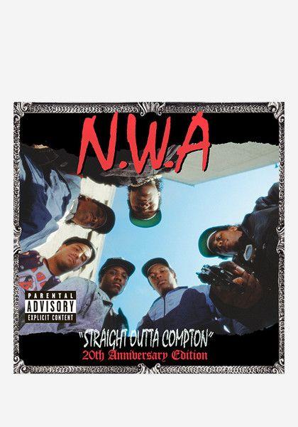 N W A Straight Outta Compton 20th Anniversary 2 Lp In