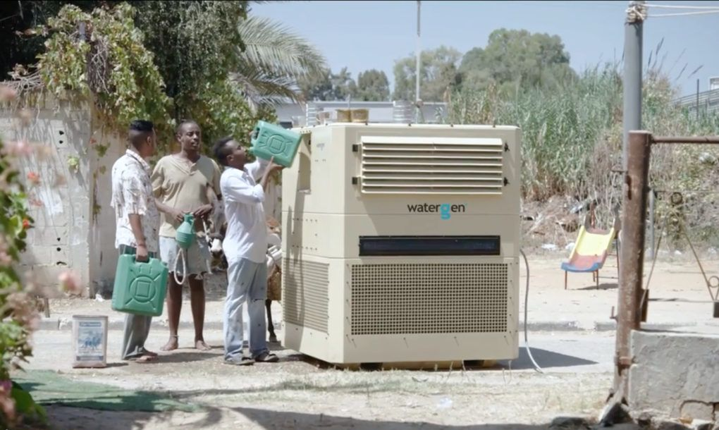 Innovative WaterGen machine harvests up to 825 gallons of