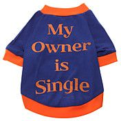 My Owner is Single Pattern T-Shirt for Dogs (... – USD $ 5.49