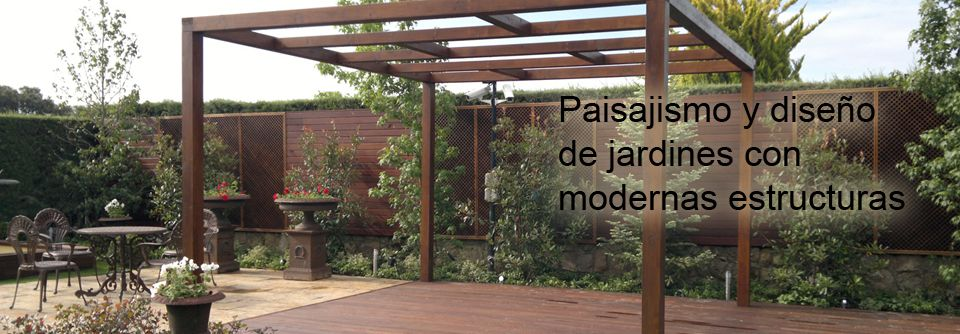 Pergolas de madera de dise os modernos pergolas - Pergolas de diseno ...
