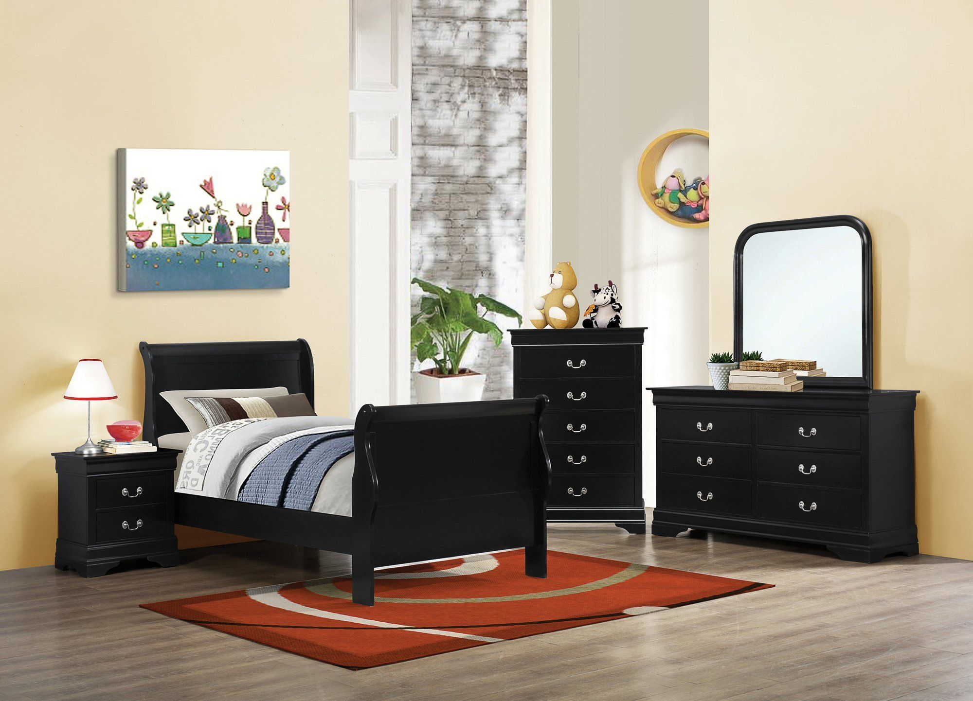 42+ Black twin bedroom set information