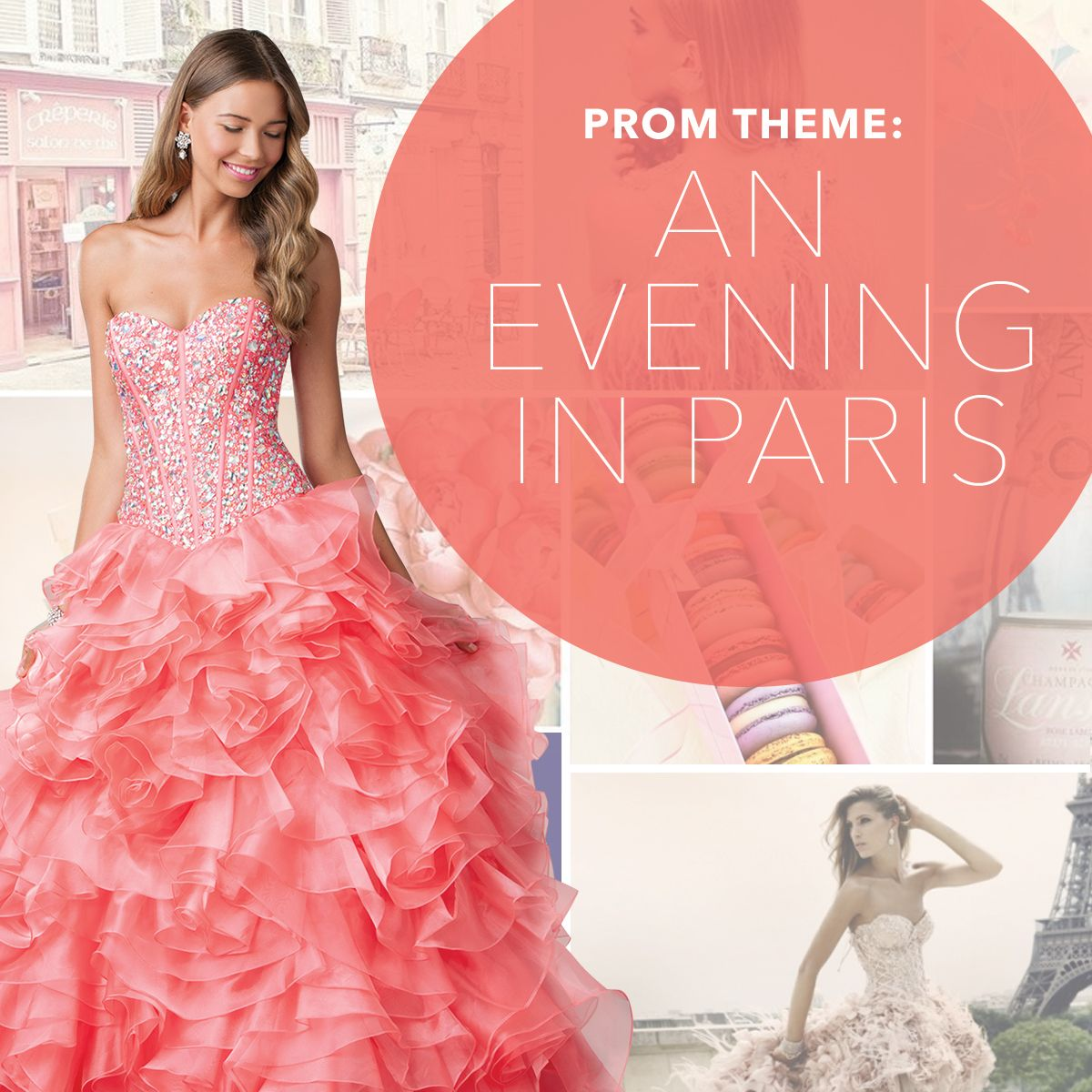 prom #dress #Paris | Prom Theme: One Night In Paris | Pinterest ...